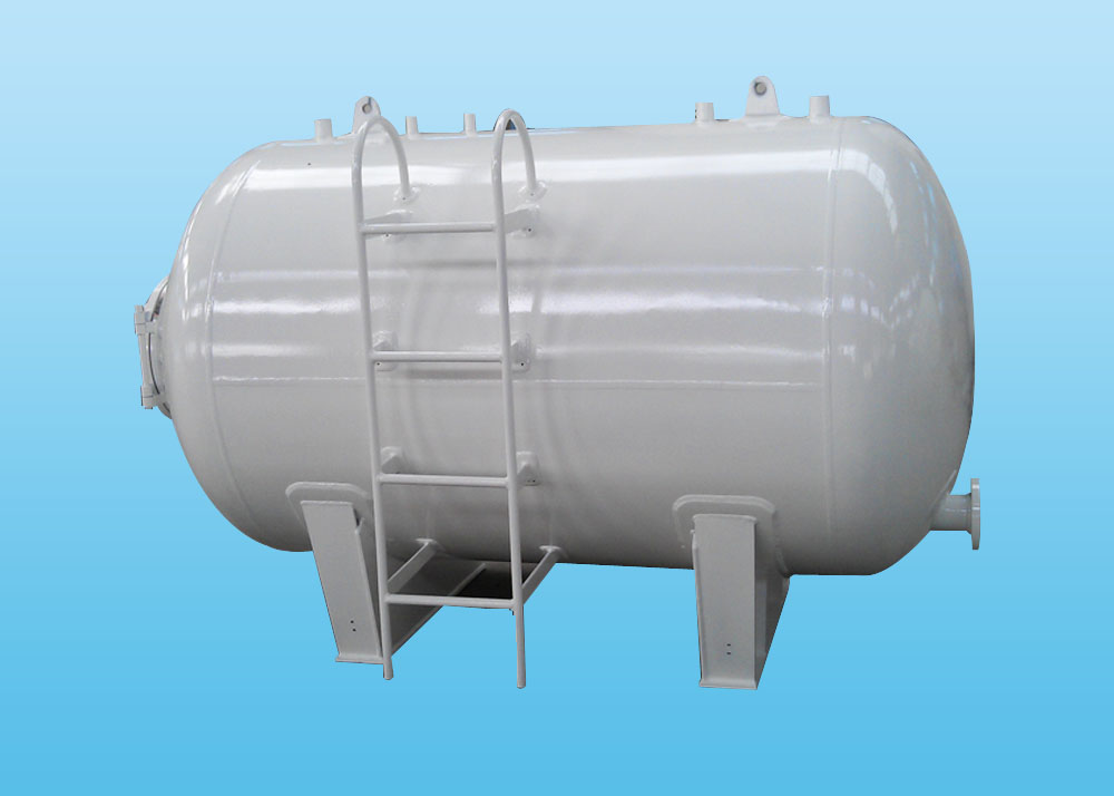 horizontal  foam tanks